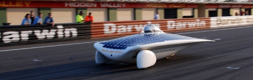 Student-built Solar Fox, Australia - Faculty of Engineering
